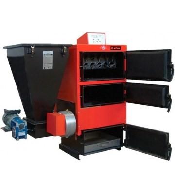 Автоматическая подача топлива в твердотопливном котле