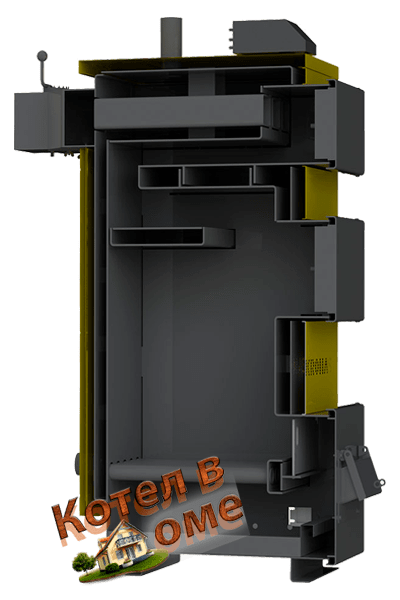 Чертежи, схема, устройство котлов Кронас Уник