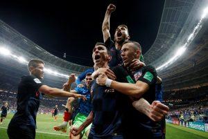 ЧМ 2018 Хорватия в полуфинале