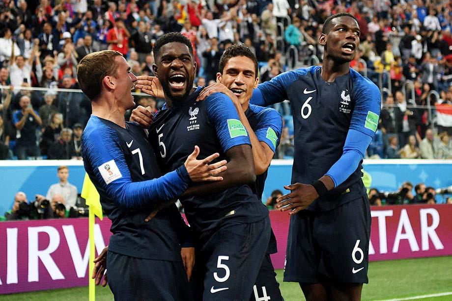 Франция в полуфинале ЧМ по футболу 2018