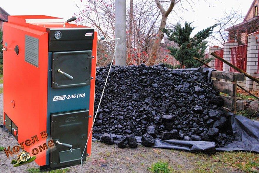 Котел длительного горения на угле