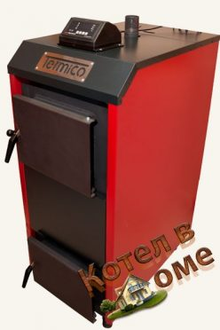 Пиролизный котел Termico ЕКО-12П от Котел в Доме