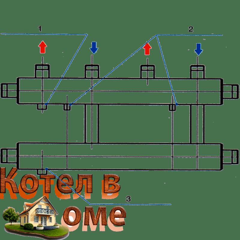 Распределительный коллектор схема