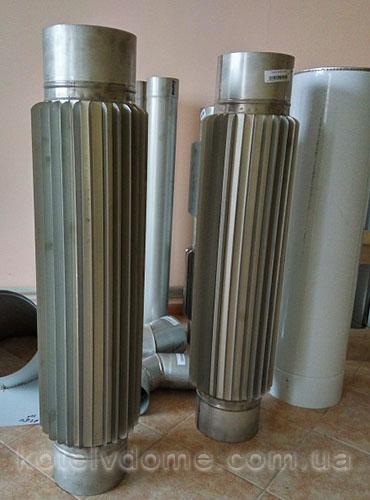 Трубы радиаторные на дымоход