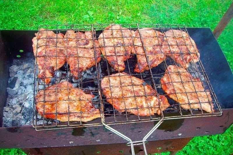 Мяс'о на вогні