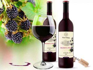 Вино із ожини від Котел в Доме