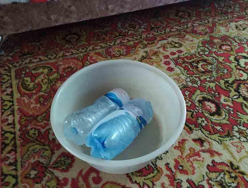Лід в тазу