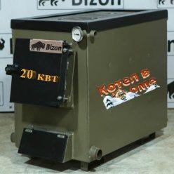 Котел Bizon М-200П Плита на дві комфорки
