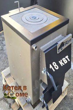 Котел Бизон 18 квт із плитою