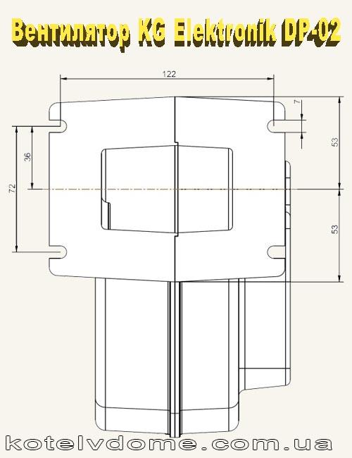 Схема вентилятора KG Elektronik DP-02