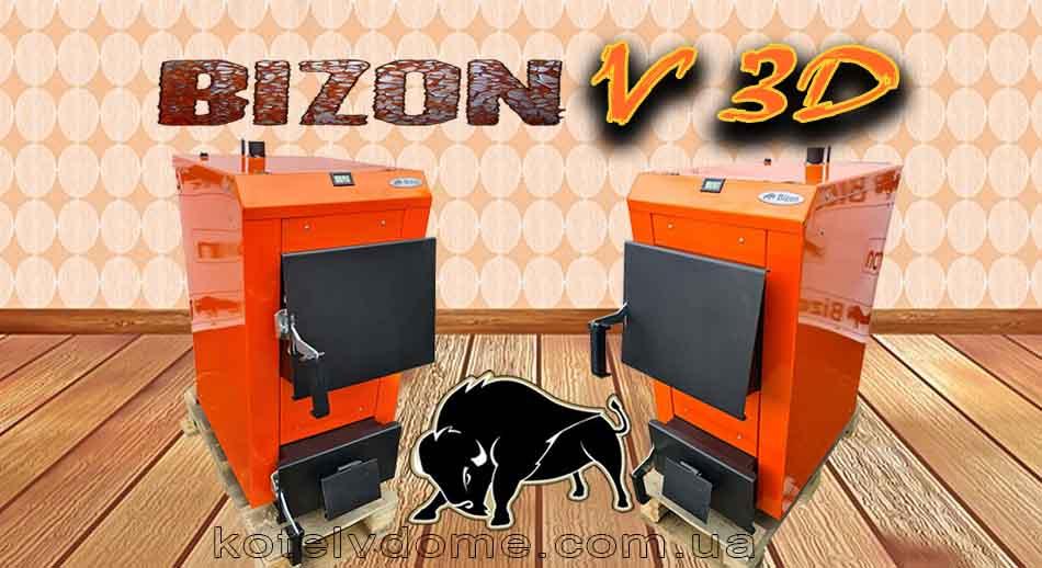 Котел Бизон в 3Д