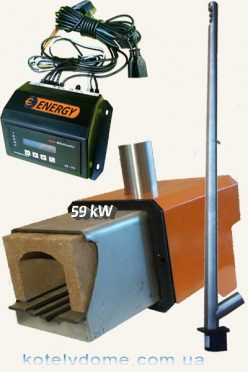 Пеллетная горелка 59 kW