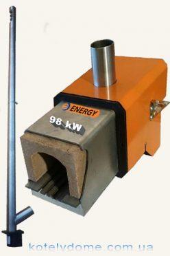 Пеллетная горелка 98 kW
